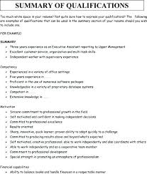 Resume Summary Examples Awesome Resume Synopsis Example Sample Executive Summary For Resume Web