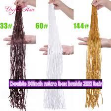 Blonde <b>Hair</b> Extenions Pre <b>Loop</b> Box <b>Braids</b> 60inch ZIZi <b>Synthetic</b> ...