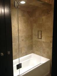 glass door for tub shower combo interesting glass shower doors tub with tub shower combo with glass door for tub shower