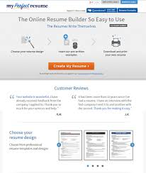 My Perfect Resume 100 Top Best Resume Builders 100 Free Premium Templates 69