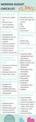 wedding budget checklist budgeting, weddings and wedding Wedding Rental Checklist this comprehensive wedding budget checklist will help you budget how much to spend on each part wedding rentals checklist