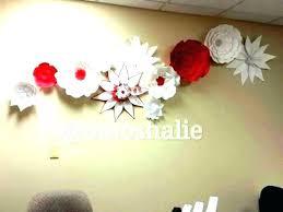 ceramic flower wall decor art white medium size of target large