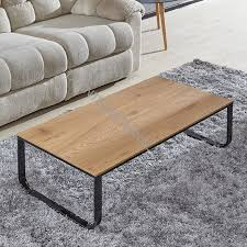 china bt 1737 mdf coffee table with oak