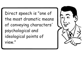 Quoted Meaning Gorgeous Direct Speech Definition And Examples