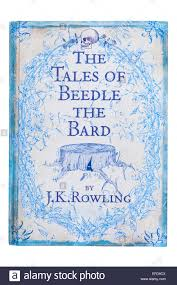 j k rowling stock photos j k rowling stock images alamy the tales of beedle the bard book written by j k rowling on a white background