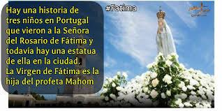 """z.kazemi on Twitter: """"????????Hay una historia de tres niños en Portugal que  vieron a la Señora del Rosario de Fátima y todavía hay una estatua de ella  en la ciudad. La Virgen"""