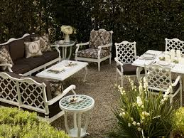 white metal outdoor furniture.  Outdoor Best White Outdoor Patio Furniture Glen Isle Traditional  And Throughout Metal