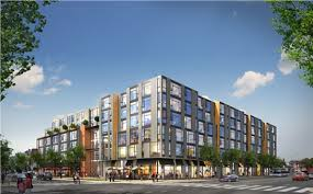 The Shay, a 245-unit apartment project planned in DC.