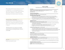 Resume Template Two Page Format Example Chronological With