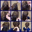 Корзиночки из волос фото
