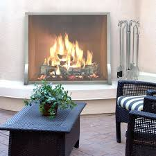 stainless steel fireplace screen categories screens indoor outdoor pilgrim single panel view all contemporary