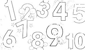 number coloring pages for preschoolers. Modren Preschoolers Number Coloring Pages For Preschoolers Page  Toddler Numbers Counting 1 To Number Coloring Pages For Preschoolers G