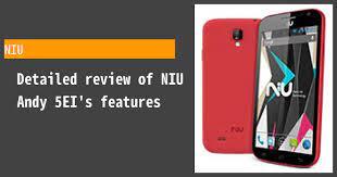 NIU Andy 5EI Photos, Specs, and Reviews ...