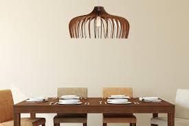 wood pendant light modern chandelier lighting hanging dining lamp ceiling light fixture geometric lamp minimal contemporary