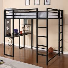 Picture, loft beds for adults  full size loft bed with desk ...