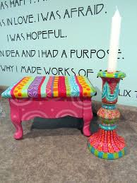 125 Best Painted Chair Images On Pinterest  Painted Furniture Hand Painted Benches