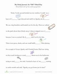 Check out our collection of printable phonics worksheets for kids. Writing Word Families Og Words Worksheet Education Com
