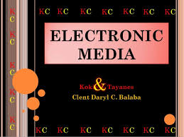 role of electronic media in communication essay