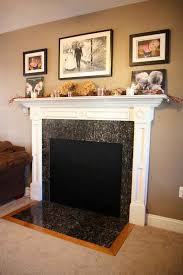 wood burning fireplace cover