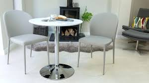small dining table 2 chairs round white gloss 2 dining table pedestal base with 2 dining