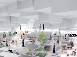 Japanese office design 80s Image Courtesy Suppose Design Office Designboom Suppose Design Office urban Airgap