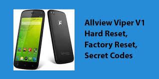 Allview Viper V1 Hard Reset,Factory ...