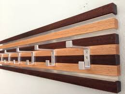Crate Barrel Coat Rack Wall Mounted Coat Rack Contemporary Wooden SCOREBOARD By In Prepare 80