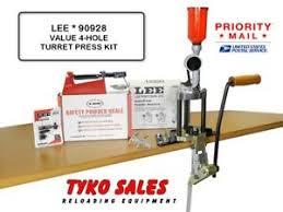 Details About Lee 90928 Lee Precision 4 Hole Value Turret Press Kit 90928