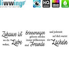 Wandsticker No 4848 Wandtattoo Sticker Zuhause Liebe Erinnerung