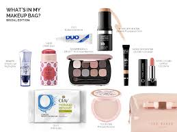 what s in your makeup bag bridal edition may 4 2016 posted by mickey tortorelli