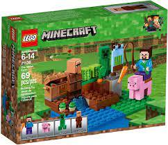 Đồ Chơi LEGO Minecraft 21138 - Khu Vườn của Steve (LEGO Minecraft 21138 The  Melon Farm)