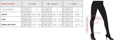 Calf Size Chart Boot Sleeves Size Chart Boomkats Com