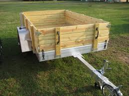 home aluminum utility trailers aluminum utility trailer ut series wood floor w wood sides
