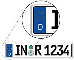 European License Plates: Automotive - Amazon.ca