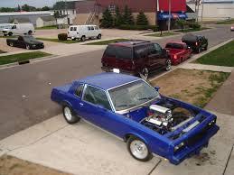 1982 Chevrolet Monte Carlo 1/4 mile Drag Racing timeslip specs 0 ...