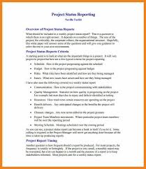8 Weekly Status Report Examples Pdf Examples