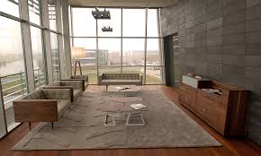 concrete office interior home trends with finishes pictures