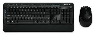 Amazon Com Microsoft Desktop 3000 Wireless Keyboard And Mouse