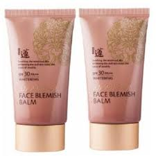 welcos no makeup face blemish balm spf30pa 50 ml x2 แพคค