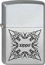 <b>Зажигалка Zippo</b> Classic <b>205 Tattoo Design</b> (серебристый)