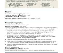 resume medical assistant objective examples for samples template  gallery of impressive medical resume example