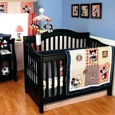 football crib bedding set sports baby boy sets vintage mickey 4 piece by classic bed football crib bedding set custom vintage