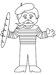 French Coloring Sheets French Coloring Pages Beretboy1 France