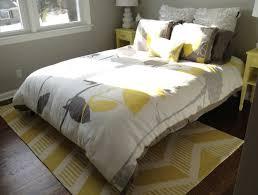 8 x 10 rug under king bed
