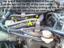 1984 nissan pickup vacuum diagram wiring diagram nissan 720 pickup truck vacuum hose routing and repair guide 1984 nissan pickup vacuum diagram