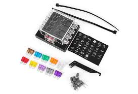 iztoss f z universal way circuit standard blade fuse box iztoss f428 8 z universal 8 way circuit standard blade fuse box block holder