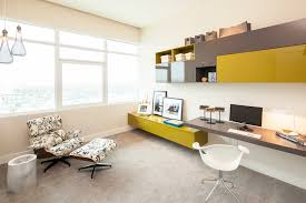 modern home office built desk. modern study desk home office contemporary with glass pendant lights italian design floating cabinet built c