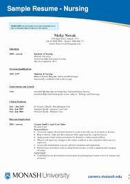 Nurse Resume Template Word Unique Nursing Student Resume Template