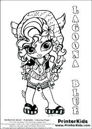 Free Printable Monster High Coloring Pages Monster High Coloring
