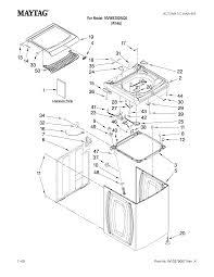 Maytag quiet series 300 dishwasher parts diagram elegant maytag automatic washer parts model mvwb300wq0